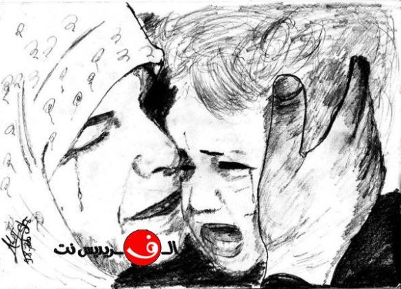 تعلم الرسم مع صديق الموقع علي شكري على مراحل