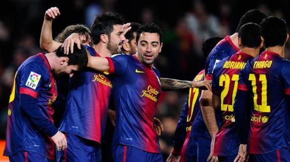 """برشلونة وريال يستعرضان قبل """"كلاسيكو الكأس"""""""