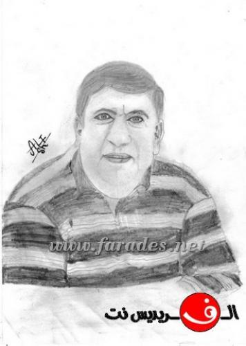 رسومات الشاب علي شكري  من قرية الفريديس