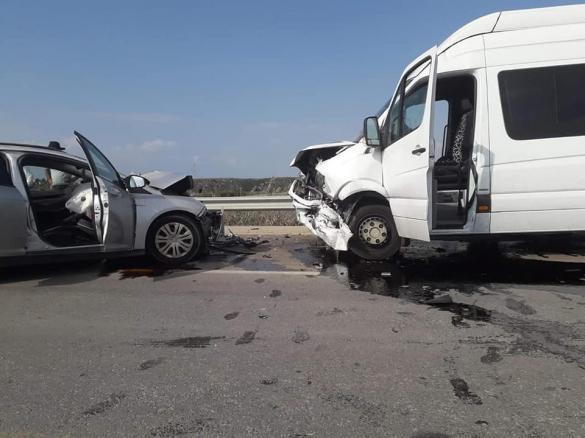 إصابة 20 شخص بحادث طرق قرب جسر الزرقاء