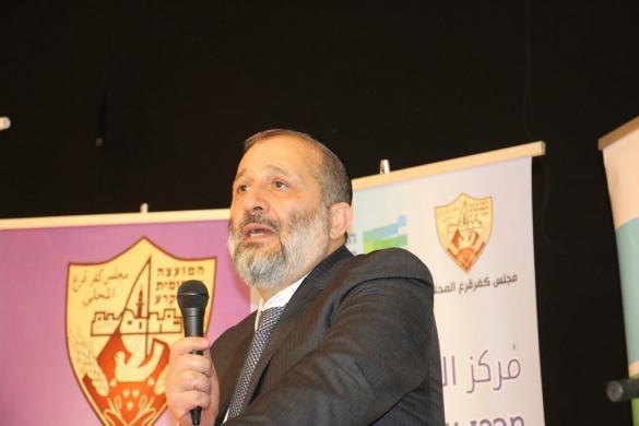 اريه درعي: من المتوقع إفتتاح مراكز للشبيبة في الفريديس وجسر الزرقاء