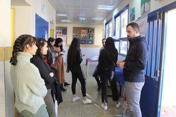 بالصور: يوم التوجيه الدراسي في الفريديس