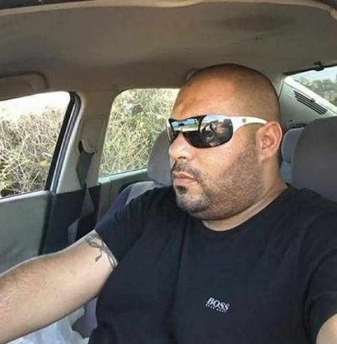 الشاب فادي أبو كليب هو ضحية حادث الطرق بالقرب من مدخل حيفا