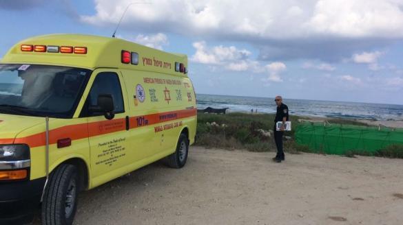 مصرع رجل غرقاً في شاطئ قيساريا