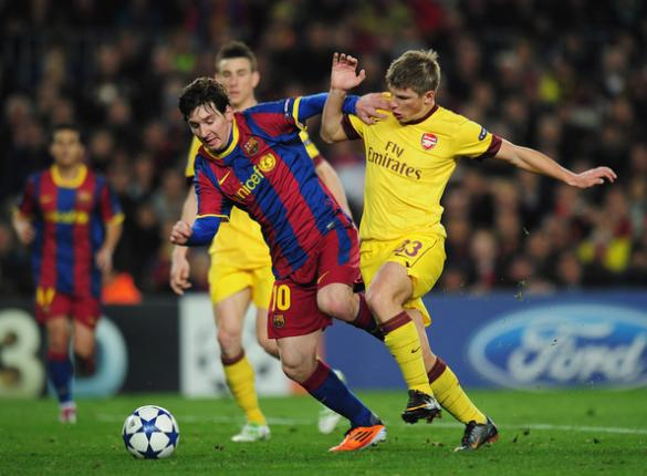 شاهدوا: برشلونة يهزم أرسنال بثلاثية ويتأهل إلى دور الثمانية في دوري ابطال اوروبا