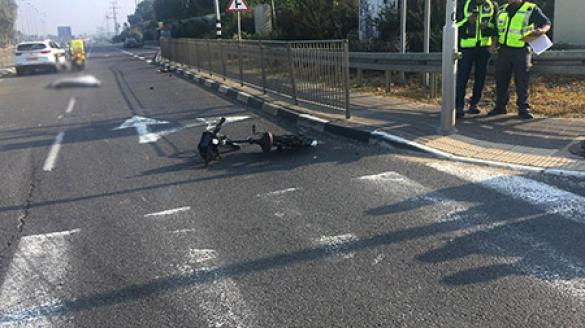 مصرع سائق دراجة هوائية في حادث طرق قرب الفريديس