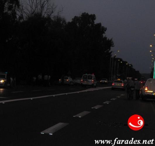 إصابة شخص بجروح خطيرة بحادث دهس قرب أورعكيفا
