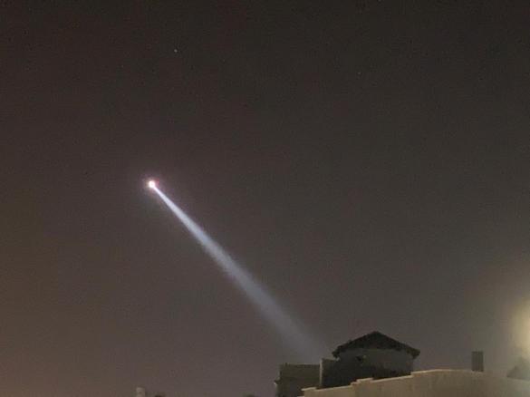 مروحية للشرطة في سماء الفريديس لضبط الإغلاق الجزئي
