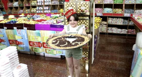 شاهدوا بالفيديو: التشكيلة الواسعة والفاخرة في محمص خضر إستقبالا لعيد الفطر السعيد