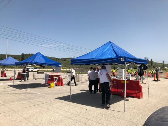 ابتداء من اليوم: محطة فحص للكورونا في المثلث