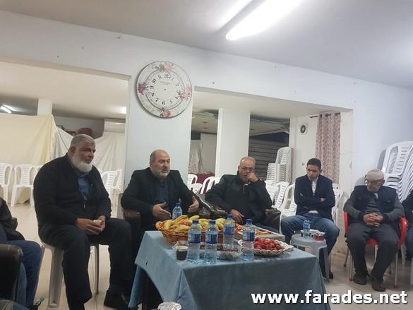 حلقة إنتخابية بيتية للنائب عبد الحكيم حاج يحيى في الفريديس