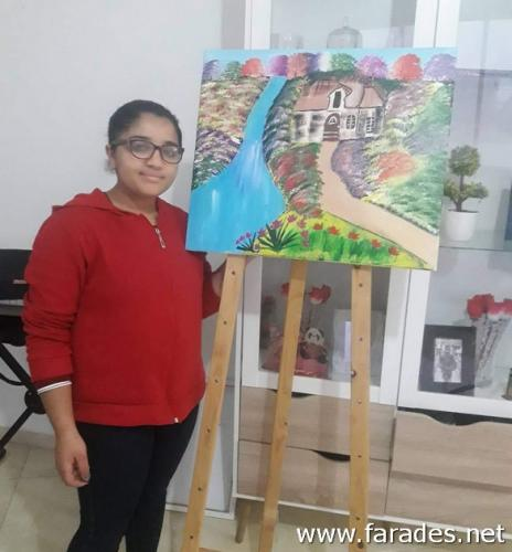 شقيقتان تدرسان في الفريديس : مبدعات بالرغم من الظروف