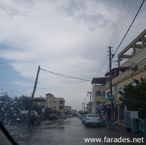 أمطار الخير تزور الفريديس هذا اليوم... وتحذيرات من المطر الأول