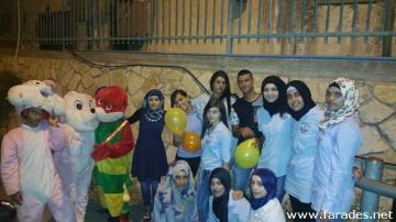 بالصور: طلاب المدرسة الثانوية يتألقون في ليلة عيد الأضحى