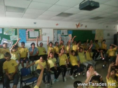 فعالية مميزة للأديب رافع يحيى في مدرسة الصديق الابتدائية