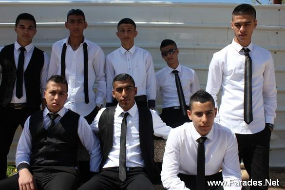 يوم تصوير طلاب الثواني عشر في مدرسة الفريديس الشاملة