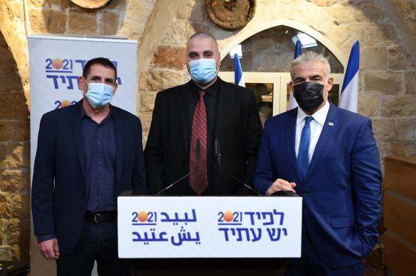 انطلاق الحملة الانتخابية لحزب يش عتيد من مدينة الطيبة