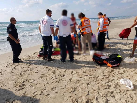 عاجل: غرق شاب (20 عاما)  في شاطئ الطنطورة