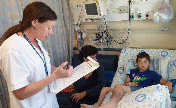 هيلل يافه: إصابة طفل(9 سنوات) إثر تعرضه للدغة أفعى