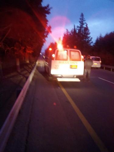 إصابة شاب في حادث دهس بالقرب من الفريديس