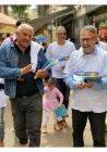 دعم شعبي مُلفت لحملات توزيع نشرات المشتركة في بلدات الجليل