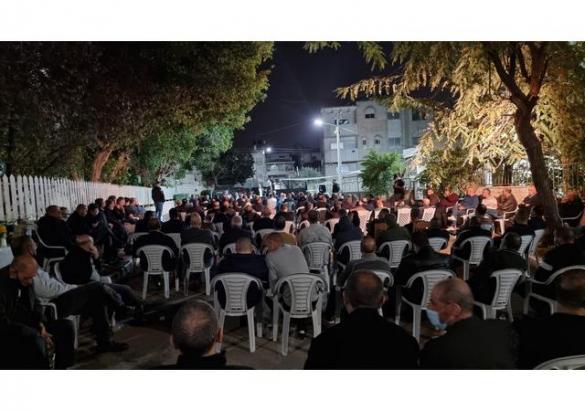 مهرجان انتخابي حاشد دعمًا للموحدة بضيافة آل صرصور بكفر قاسم