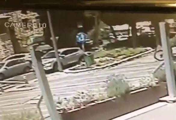 شاهدوا: لحظة انفجار سيارة في حيفا واصابة شابين بجراح خطيرة