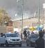 حريق كبير في مخزن داخل المجمع التجاري مول زخرون