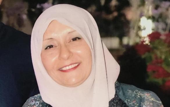 المربية مزنة سعدي مديرة للمرحلة الإعدادية في مدرسة الظهرات